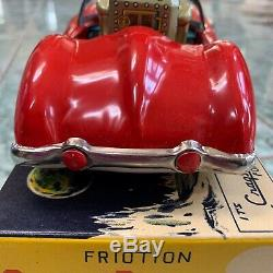 Cragstan SPACE ROBOT PATROL Friction Car with Sparkling Atomic Gun #565 with Box