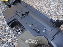 Custom Built DMR airsoft gun, magazines, bio ammo, and pouches