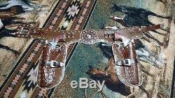 Custom Made Roy Rogers Cap Gun Holsters