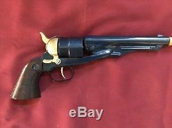 DAISY/NICHOLS. 44 Cal. Cap and Ball Cap Gun with Civil War Holster