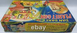 DAN DARE PLANET GUN WITH 3 SPINNING MISSILES MADE BY J&l RANDALL LTD (MLFP)