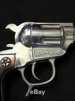 DAVY CROCKETT SHOOTN IRON 50 shot repeater cap gun in original box