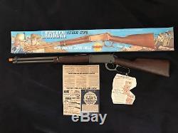 Daisy LAWMAN Lever Gun Smoke Bang Rifle with papers and hang tag in original box