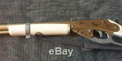 Daisy Model 967 Golden Smoke Rifle Vintage POP Gun Original Sling &White Stock