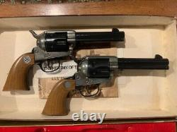 Daisy Texas Ranger Commemorative Peacemaker Six Gun BB pistols RARE