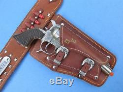 Dale Evans Butterfly Front Cap Gun Holster Rig Roy Rogers (guns Not Included)