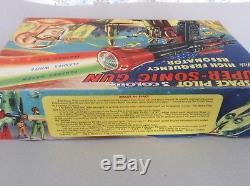 Dan Dare 1950s Space Sonic Gun Three Colours