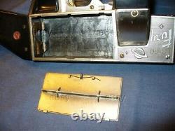 ESTATE 1950s NICHOLS FURY F-500 CAPGUN MACHINE GUN TOY BATTERY OPERATED SPACE BO