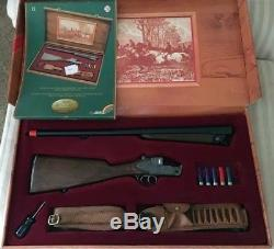Edison Giocattoli 12 Gage Toy Cap Gun Prestige Set Montecarlo EXCELLENT