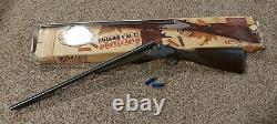 Edison Giocattoli Montecarlo Cal. 12 Cap Gun Shot Gun With Extras In Boxes! RARE