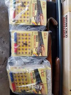 Edison cal. 12 montecarlo toy cap gun +ammo