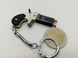 Exclusive handmade Derringer keychain miniature model gun Toy pistol gun