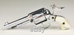 Fine Vtg 1950s AMERICAN MINIATURE Colt 45 Pistol Western Gun Model & Box