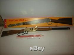 Fucile Molgora Winchester 50 Gold Toy Gun Rifle Giocattolo Vintage Mib