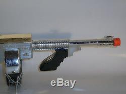 Fury 500 Cap Firing Toy Machine Gun by Nichols, Works, Vintage 1960