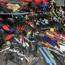 GI JOES MASSIVE LOT Figures vehicles weapons Cobra 80s ARAH Vintage Toys