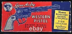 Gene Autry Cap Gun with Original Box by Leslie Henry
