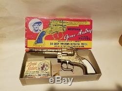 Gene Autry Toy Cap Gun, Golden Pistol