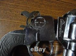 George Schmidt Alan Ladd Shane 10.5 Chrome Plated Diecast Toy Cap Gun D