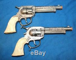 HAVE GUN WILL TRAVEL DOUBLE HOLSTER SET WithORIG. BOX UNFIRED CIRCA 1958 -RARE