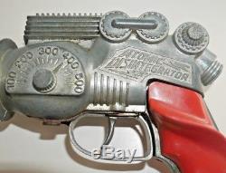 HUBLEY ATOMIC DISINTEGRATOR VINTAGE 1950's SPACE TOY GUN VERY RARE A740