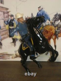 Hartland Col. Mackenzie complete rider, horse, saddle hat gun