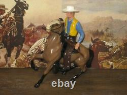 Hartland Gil Favor Rawhide figure horse saddle hat gun rifle