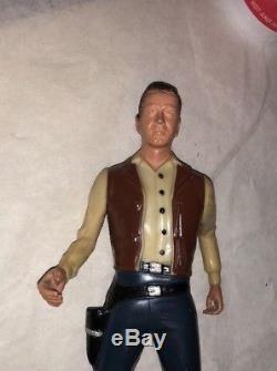 Hartland Vintage Vint Bonner Rare Gunfighter Figure Vintage Restless Gun