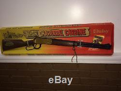 Hgh Chaparral carbine Toy gun New in Box circa 1968