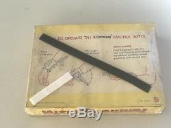 Hubley Panther Cap Gun Vintage Toy Spring Loaded Wrist Pop Out Derringer