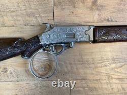 Hubley Rifleman Flip Special Cap Gun Rifle