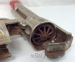 Hubley Texan 1940's Cap Gun Working (I191)