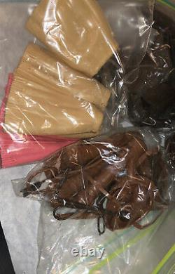 Huge Lot Of Western 12 Accessories Johnny Jane West Saddle Gun Hat Outfit More
