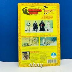 Indiana Jones vtg action figure Kenner toys 1982 Raider Lost Ark Toht MOC sealed