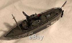 Ives Toys Tin Wind Up #3009 Ship Navy Destroyer Battleship Gun Boat 1910s