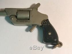 J. M. Fisher Company 1930s Pinfire Gun Revolver Fob Bakelite Grips Very Rare