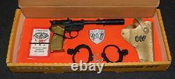 James Bond Lone Star 1965 Special Agent Presentation Attache Gun Set