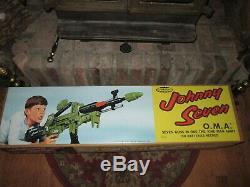 Johnny7 Johnny Seven OMA Topper Toys TOYS Repro BOX Original Gun Repro Set