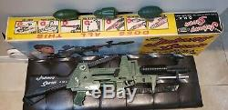 Johnny 7 Seven Topper One Man Army OMA Cap Gun Shells Grenade & BOX RARE WOW