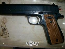 Johnny Eagle Lieutenant Toy Plastic Gun. 45 Cal Works
