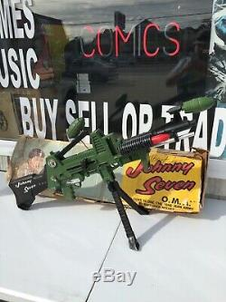 Johnny Seven Oma 7 Guns In One By Topper Toys 1964 In Original Box Near Complete