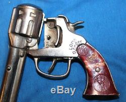 KILGORE CAST IRON LONE RANGER CAP GUN -LATE 1930s to 1940 EXCELLENT CONDITION