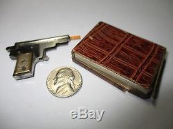 KOLIBRI #1 MINIATURE PINFIRE GUN WATCH FOB CAP GUN with ORIGINAL BOX RARE