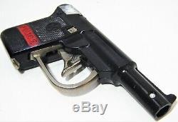 Kilgore 1937 Police Automatic Repeater Bakelite Nickel Plated Parts Cap Gun VGC