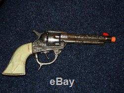 Kilgore American Vintage Cap Gun. Dummy. 2nd version. 2 pc Steel Cylinder