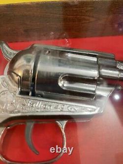 Kusan Nichols Stallion 45 Cap Gun In Shadow Box