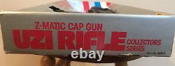Larami Z-Matic Cap Gun Uzi Rifle Collectors Series Item No. 8082-0
