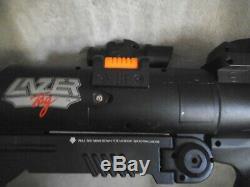 Lazer Tag Bazooka Blast Gun Vintage 1998 Tiger Electronics 90s Toy with Strap