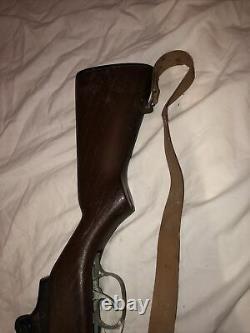 MARX M1 Garand vintage toy Gun sniper bolt action rifle cap with strap rare