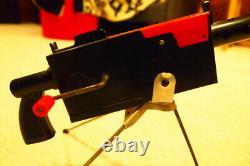 MATTEL toy Mattel-O-Matic cap firing air cooled machine gun original box (RARE)